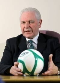 Mr Jim Shaw Jim Shaw the NAFL Patron and also the newly appointed President of the Irish Football Assoc.