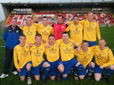 The successful St Pats team