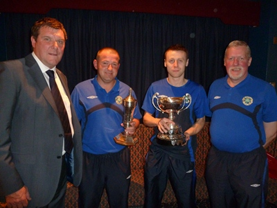 St Patricks YM Division 3E goes to D Rimes,P Saunders & F Cunningham