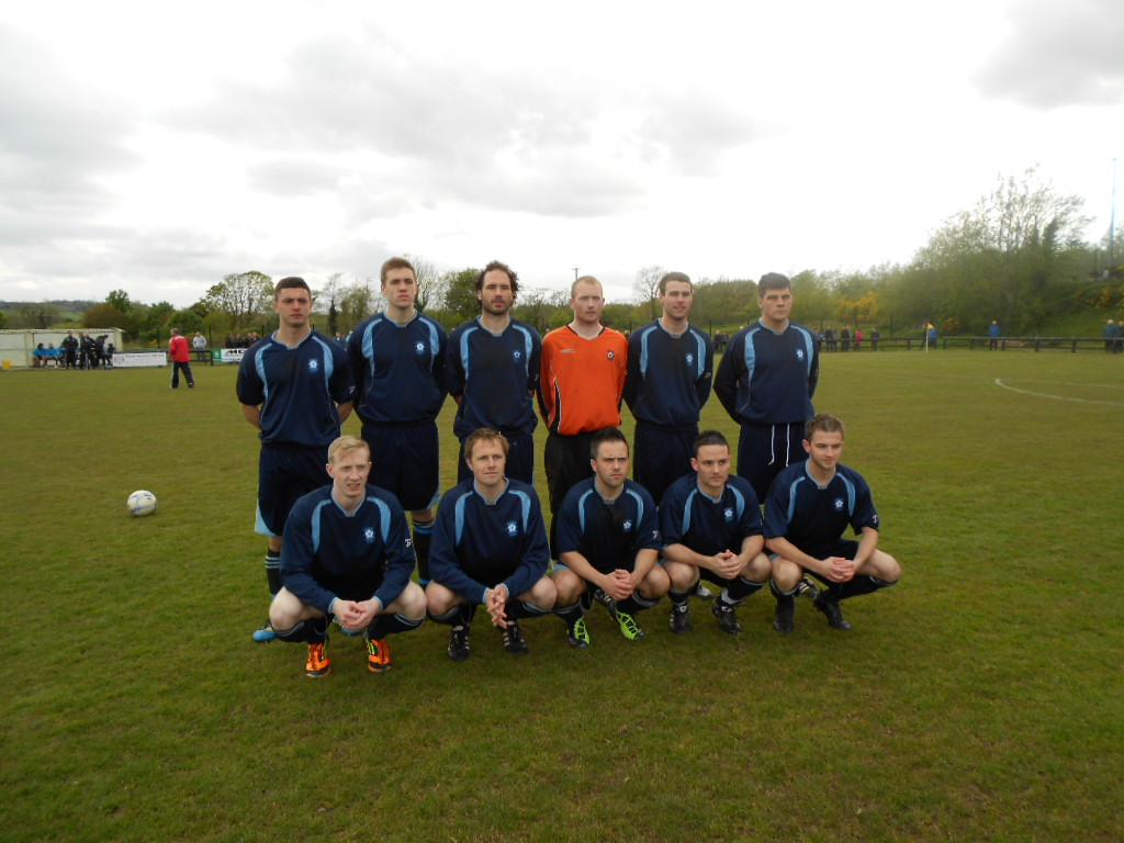 Defeated Dunmurry Rec