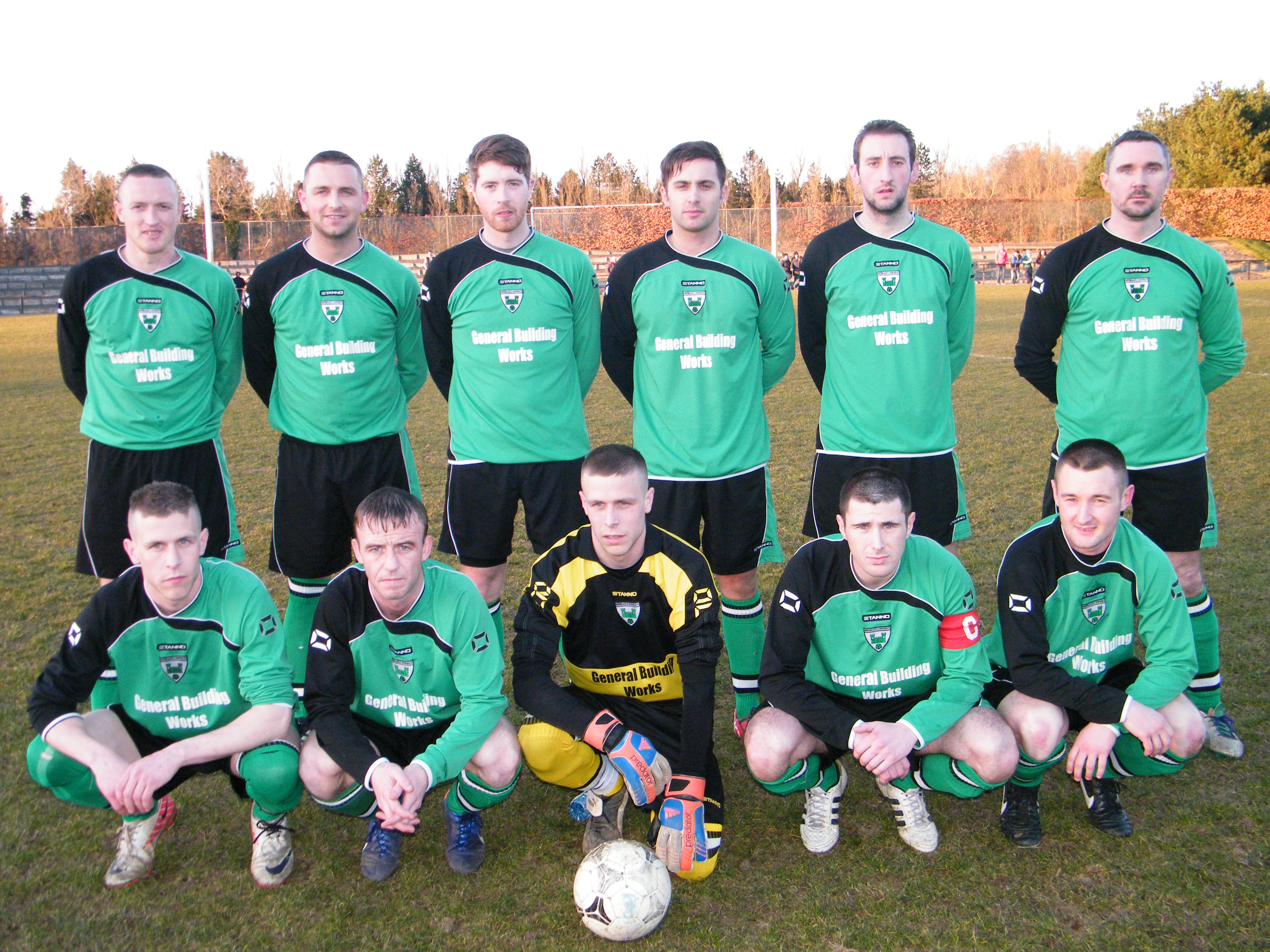 Down but not out Greencastle ROVERS
