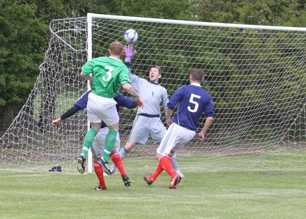 William McBurney opens the scoring