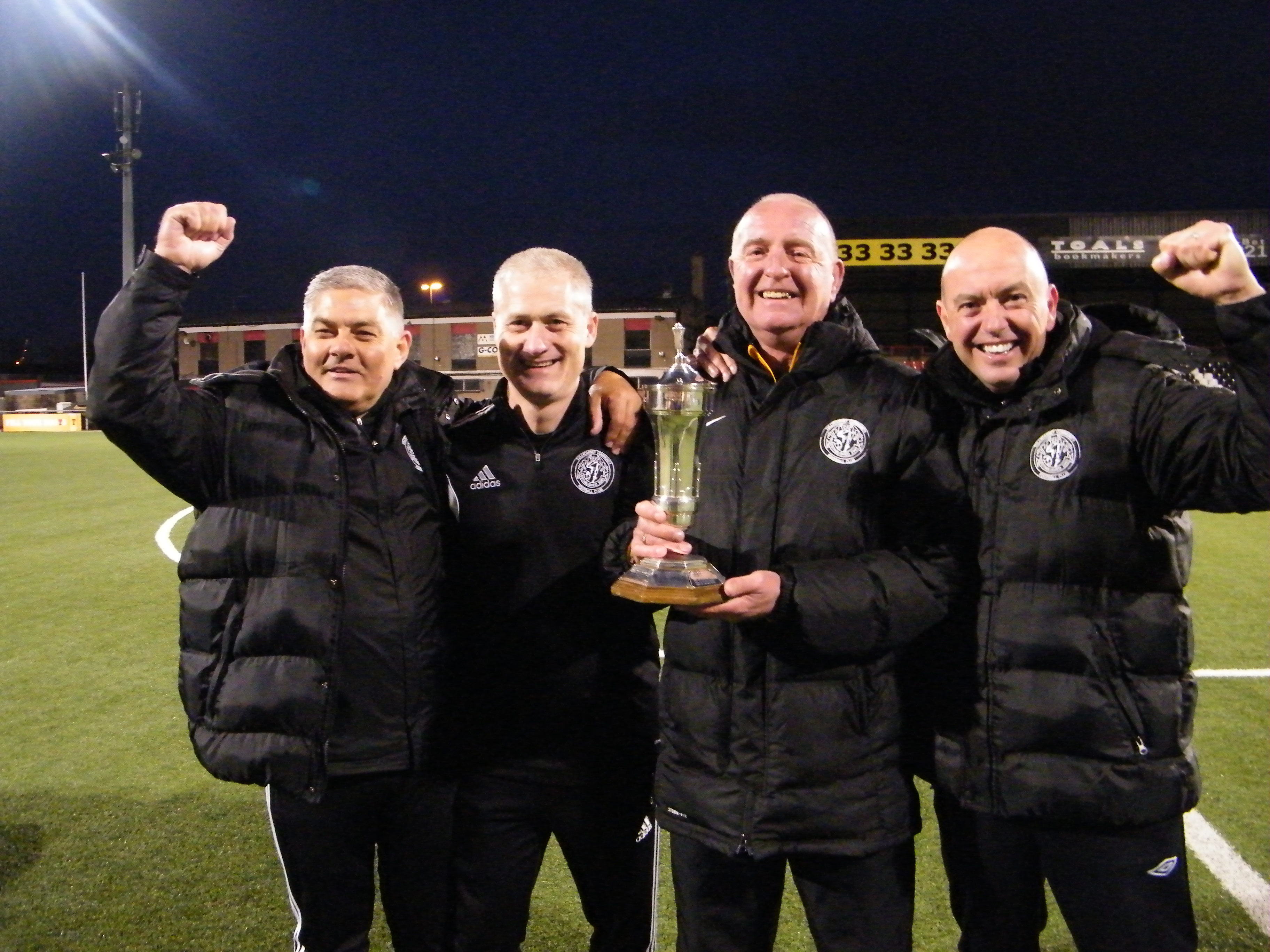 Another cup triumph this season for Tullycarnet