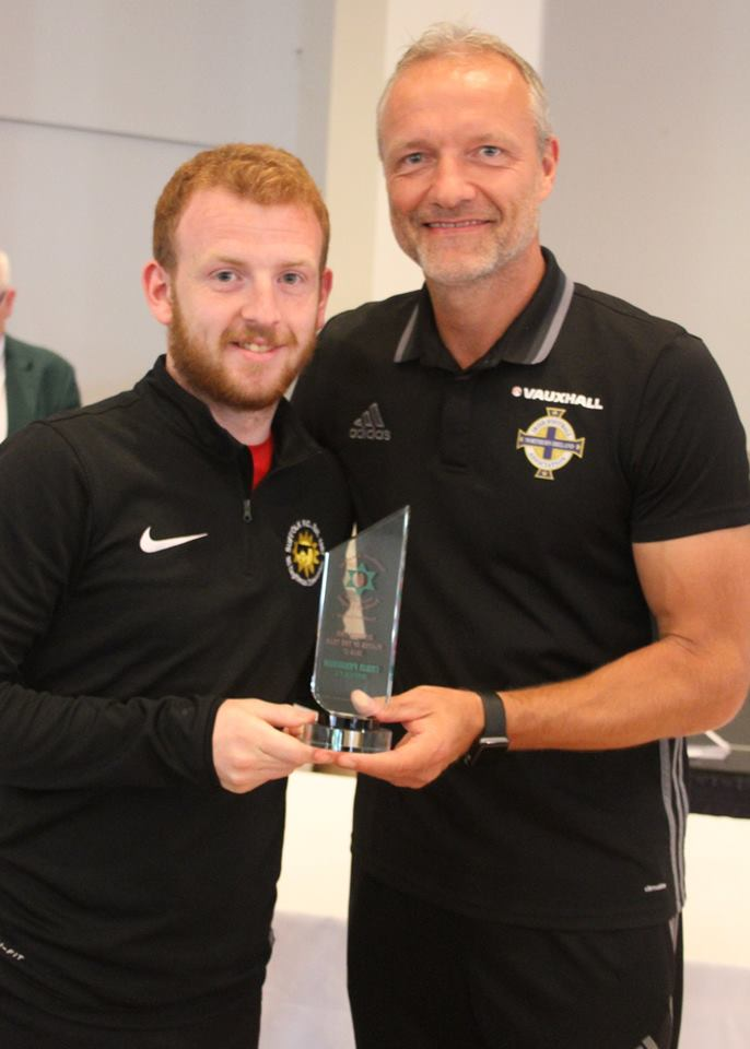 2nd Division Player of the Year Chris Ferguson